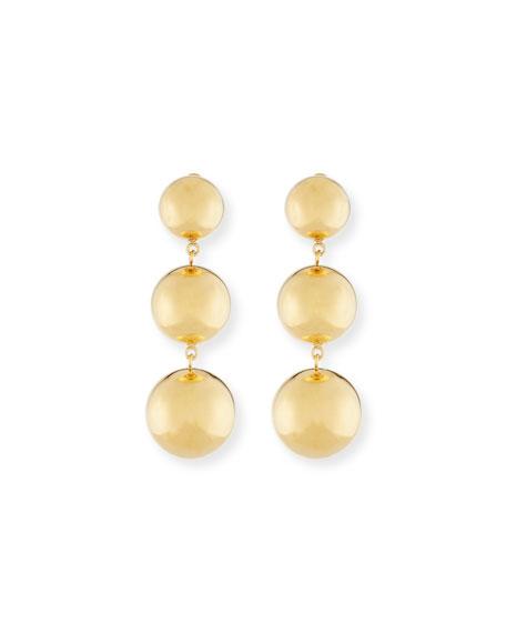 NEST Jewelry Round Triple-Drop Earrings