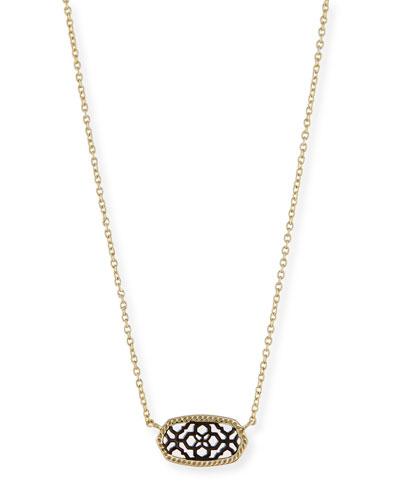 Elisa Filigree Pendant Necklace