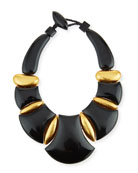 Bellissima Resin Statement Necklace