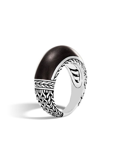 Coomi Sagrada Familia 10mm Band Ring, Size 8