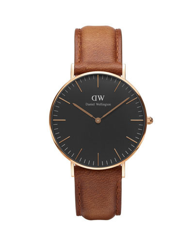36mm Classic Durham Watch Brown/Black