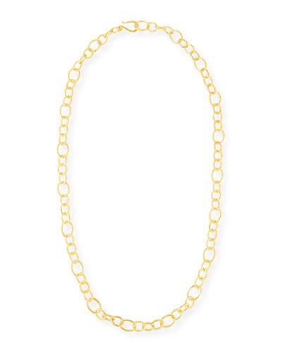 18K Gold Vermeil Chain, 36