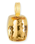 Citrine Rectangle Enhancer