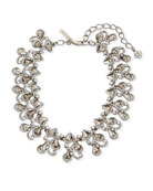 Baroque Crystal Statement Necklace