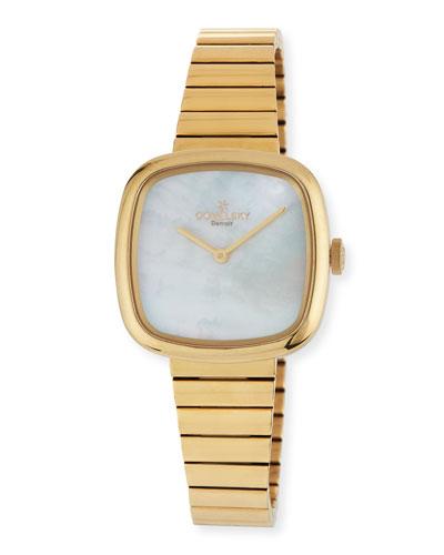 32mm Eppie Golden PVD Bracelet Watch