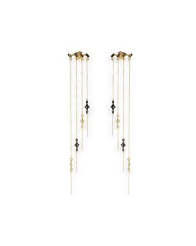 Black chandelier earring neiman marcus quick look aloadofball Choice Image
