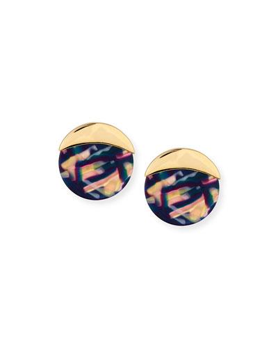 Nightscape Disc Earrings