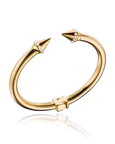 Mini Titan Pearly Cuff Bracelet