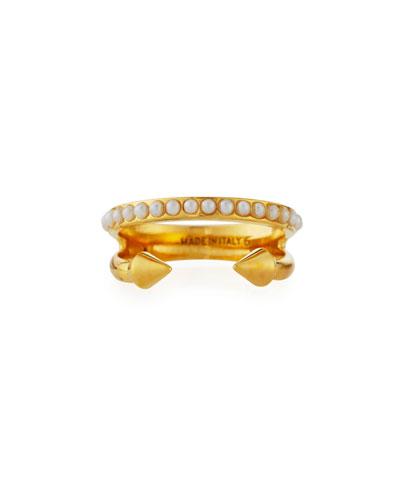 'Vita Fede Ultra Mini Pearl Band Ring
