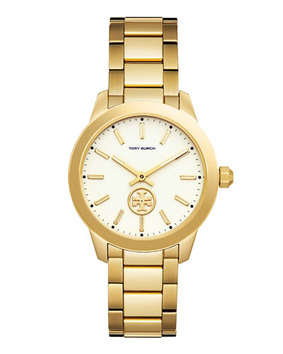 Collins Golden Two-Hand Bracelet Watch
