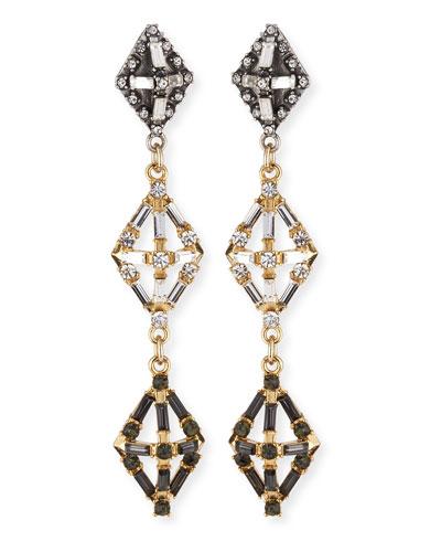 Lulu Frost Drift Crystal Statement Earrings epE1bQW5ys