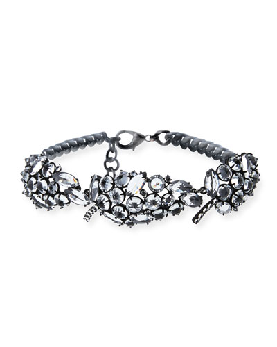 Diamanda Crystal Collar Necklace
