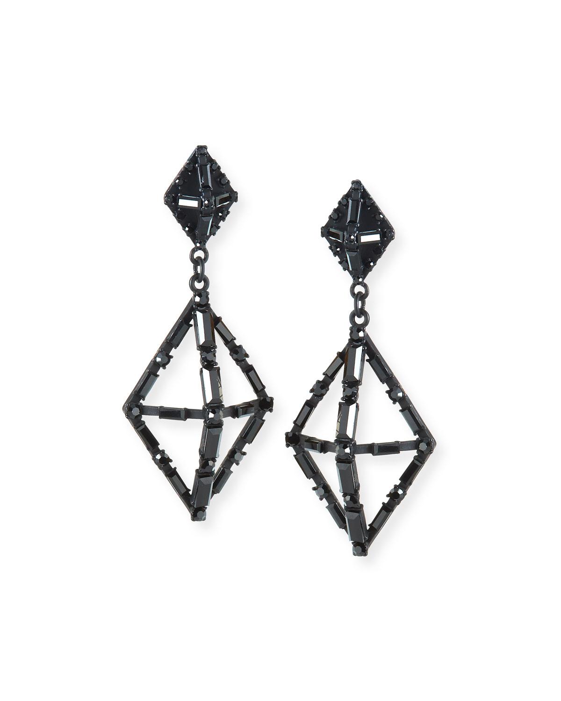 Helena Crystal Statement Earrings