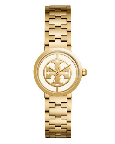 Golden Reva Bracelet Strap Watch