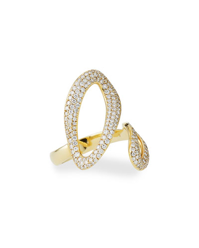 Armenta Old World Two-Tone Bypass Ring with Diamonds Bm6zvVjqT