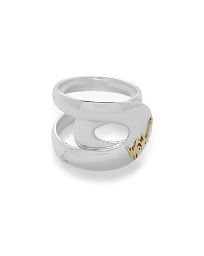 Cherish Link Wrapped Ring