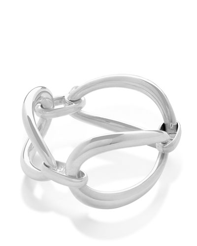 925 Cherish Triple Link Large Bracelet