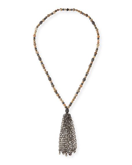 Hipchik St. Barths Chain Tassel Necklace