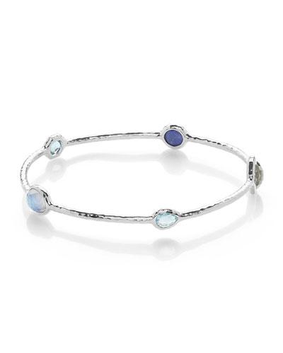 Rock Candy® 5-Stone Bangle Bracelet in Eclipse