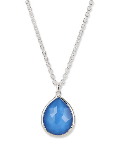 Wonderland Mini Teardrop Pendant Necklace