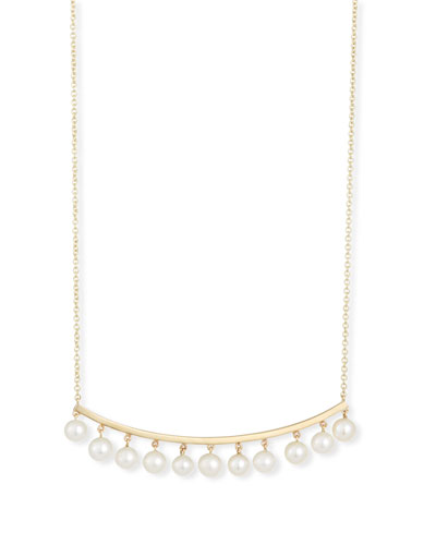 Pearl Bar Necklace