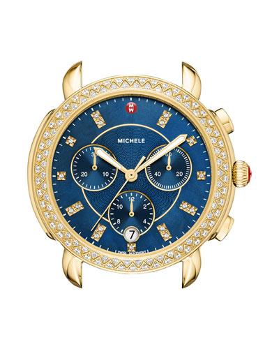 b61b437bf5da Golden Pearl Dial Watch | Neiman Marcus