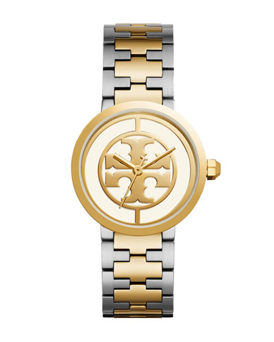 The Reva Two-Tone Bracelet Watch