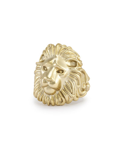 Collin Lion Ring