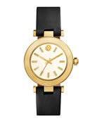 Classic T Stainless Steel Watch, Black/Golden