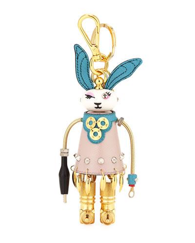 Lola Bunny Rabbit Charm for Handbag