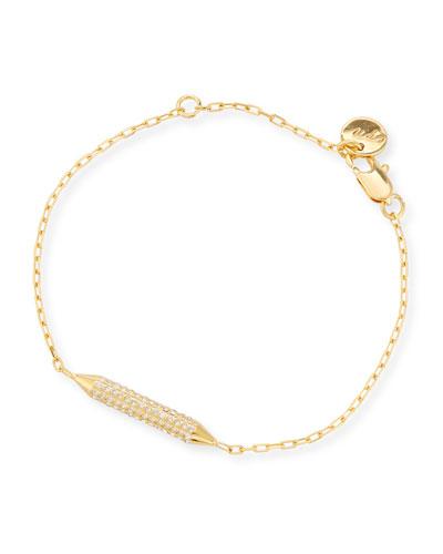 Mio Crystal Bar Station Bracelet