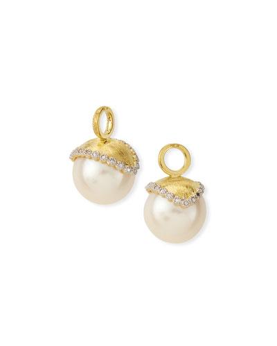 Provence Pearl & Diamond Earring Charms
