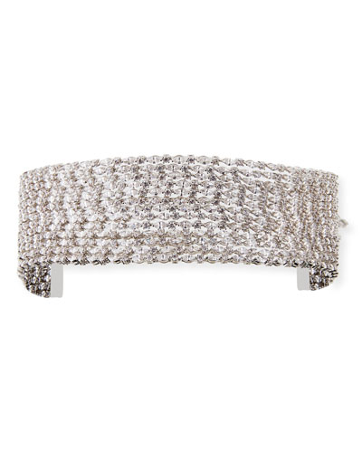 Marquis Stacked Choker Necklace