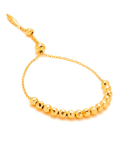 Laguna Adjustable Golden Bracelet