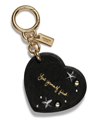 Selena Heart Charm for Handbag