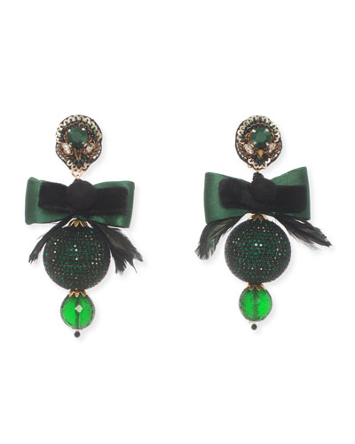 Bow Statement Clip-On Earrings