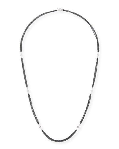 New World Triple-Strand Necklace