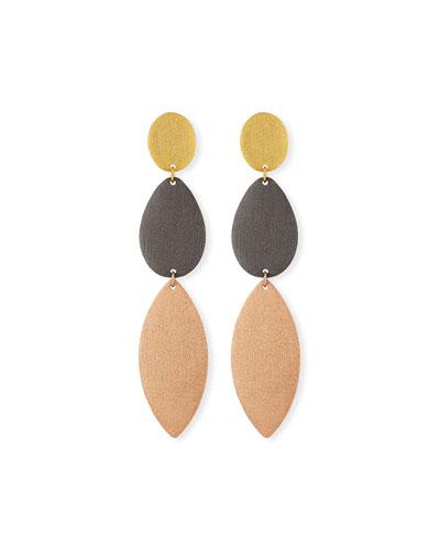 Enchantment Three-Drop Earrings