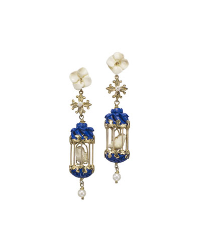 Aviary Classic Mini Drop Earrings