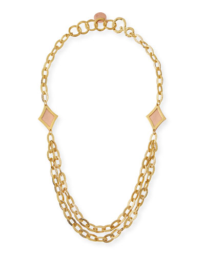 Illumination Link Statement Necklace