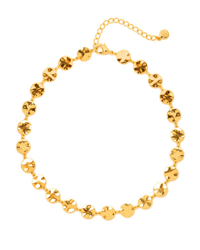 Chloe Coin Choker Necklace