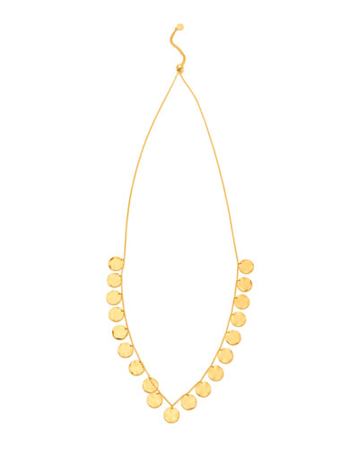 Chloe Coin Drop Necklace