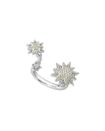 North Star Between-Finger Ring
