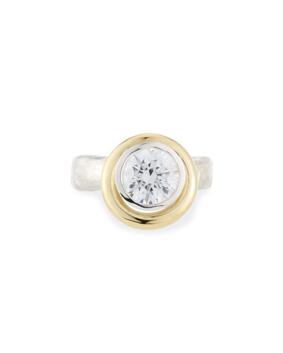 Saturn Crystal Ring