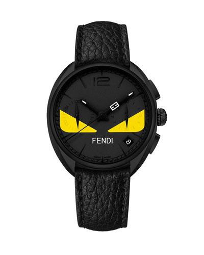 Black Stainless Steel Monster Watch