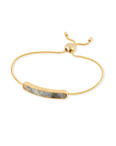 Tai Jewelry Manmade-Opal & Cubic Zirconia Slider Bracelet VC3o0s