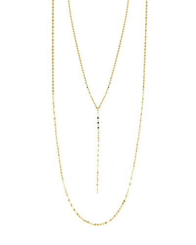 Nude Blake Layer Necklace