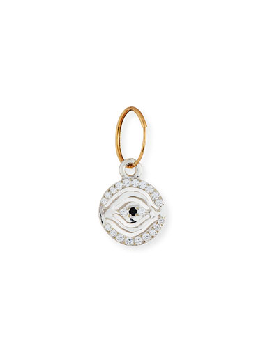 Pavé Horus Eye Single Earring