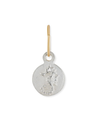 Avalon Seahorse Coin Earring