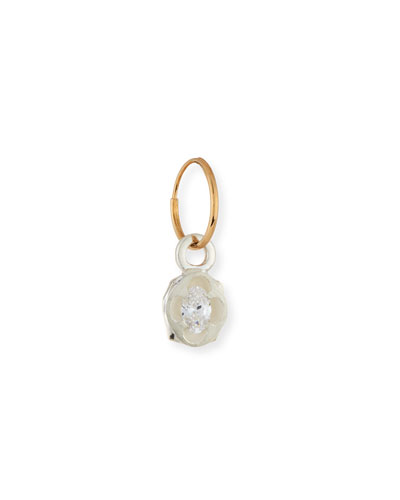 Chaucer Single Earring with Crystal